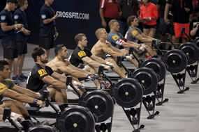 CrossFit Games Indoor Rowers