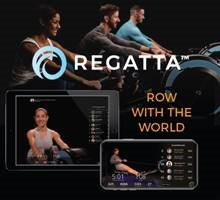 Regatta Fitness ad and logo